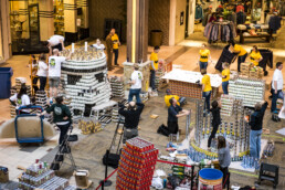 Dimensional Innovations helps out at Canstruction