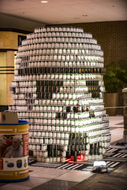 DI Foundation helps out at Canstruction