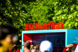 KC Heart Walk Social Media Zone