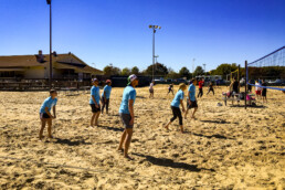 DI Foundationa Sandtastic Volleyball team