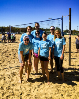 Dimensional Innovations Sandtastic Volleyball team