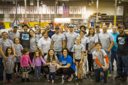 Dimensional Innovations employees volunteer to help Jadon's Hope