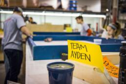 Dimensional Employees volunteer to help Jadon's Hope
