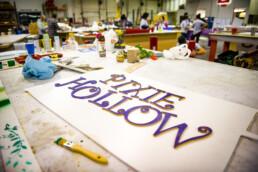 Employees design beds for Jadon's Hope